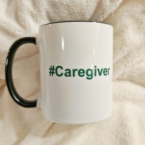 #Caregiver Ceramic Mug 10oz